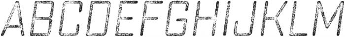 Sucrose Slant Four otf (400) Font UPPERCASE