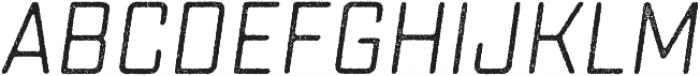 Sucrose Slant One otf (400) Font UPPERCASE