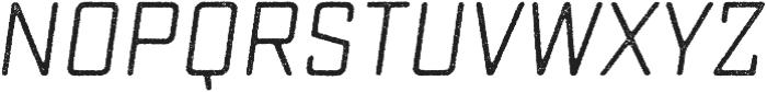 Sucrose Slant One otf (400) Font LOWERCASE