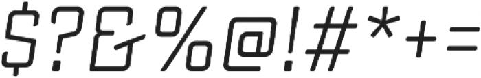 Sucrose Slant Regular otf (400) Font OTHER CHARS