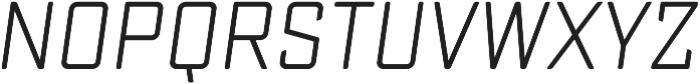 Sucrose Slant Regular otf (400) Font UPPERCASE