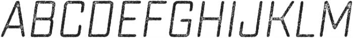 Sucrose Slant Two otf (400) Font UPPERCASE