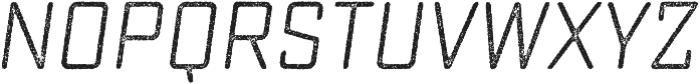 Sucrose Slant Two otf (400) Font LOWERCASE