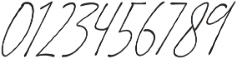 Suddenly Italic otf (400) Font OTHER CHARS