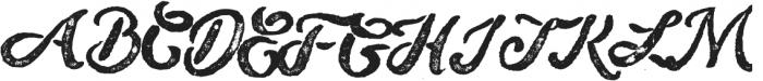 Sugar Cane Press otf (400) Font UPPERCASE