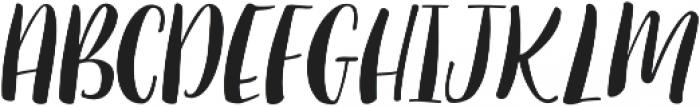 Sugar Plums Italic Italic otf (400) Font UPPERCASE