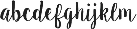 Sugar Plums Regular otf (400) Font LOWERCASE