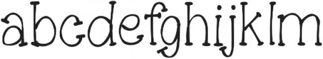 SugarCake ttf (400) Font LOWERCASE
