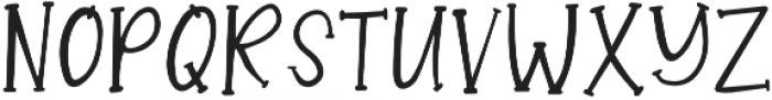 SugarDumplinSerif otf (400) Font LOWERCASE