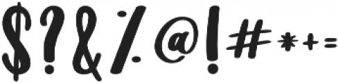 Sugarpill Sugarpill otf (400) Font OTHER CHARS