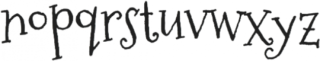 Sugarplum otf (400) Font LOWERCASE