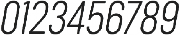 Sugo Pro Classic ExtraLight Italic otf (200) Font OTHER CHARS