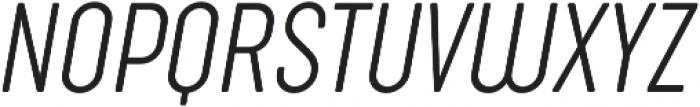 Sugo Pro Classic ExtraLight Italic otf (200) Font UPPERCASE