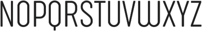 Sugo Pro Classic ExtraLight otf (200) Font UPPERCASE