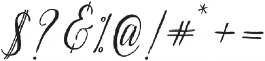 Suhainora Regular otf (400) Font OTHER CHARS