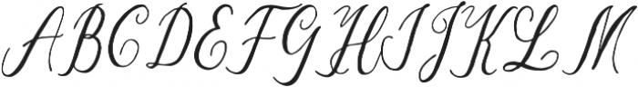 Suhainora Regular otf (400) Font UPPERCASE