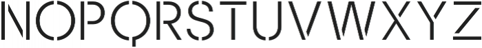 Sukima Regular otf (400) Font UPPERCASE