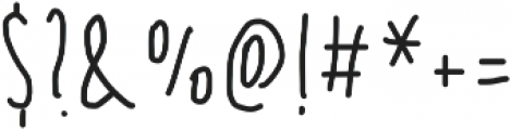 Sumire summer otf (400) Font OTHER CHARS