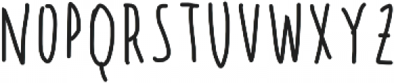 Sumire summer otf (400) Font LOWERCASE