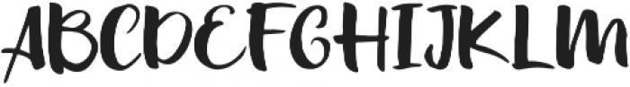 Summer Back otf (400) Font UPPERCASE