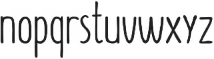 Summer Font otf (400) Font LOWERCASE