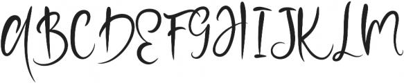 Summer Rock  otf (400) Font UPPERCASE