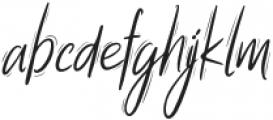 Summer Wednesday Script otf (400) Font LOWERCASE