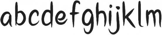 SummersHere ttf (400) Font LOWERCASE