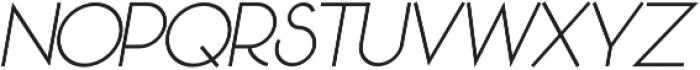 Sun Pepper otf (400) Font UPPERCASE