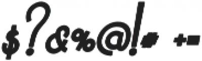 Sun Pepper otf (700) Font OTHER CHARS