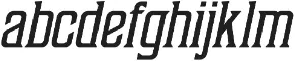 Sunblast Regular ttf (400) Font LOWERCASE