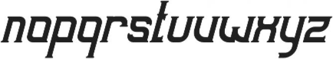 Sunblast Slanted otf (400) Font LOWERCASE