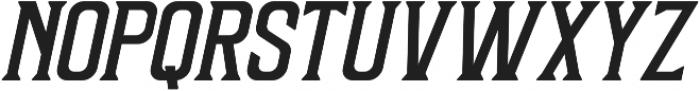 Sunblast Slanted ttf (700) Font UPPERCASE