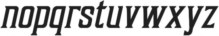Sunblast Slanted ttf (700) Font LOWERCASE