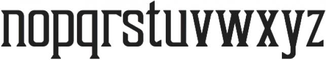 Sunblast ttf (400) Font LOWERCASE