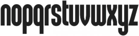 Sunblock Pro Cond Bold otf (700) Font LOWERCASE