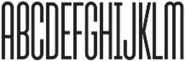 Sunblock Pro ExCond Light otf (300) Font UPPERCASE