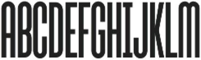 Sunblock Pro ExCond Regular otf (400) Font UPPERCASE
