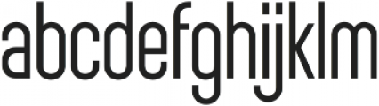 Sunblock Pro Light otf (300) Font LOWERCASE