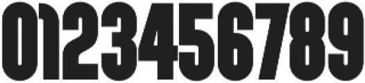 Sunblock Pro SemiCond Black otf (900) Font OTHER CHARS