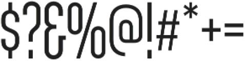 Sunblock Pro SemiCond Light otf (300) Font OTHER CHARS