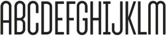 Sunblock Pro SemiCond Light otf (300) Font UPPERCASE