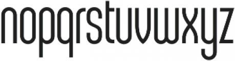 Sunblock Pro SemiCond Light otf (300) Font LOWERCASE