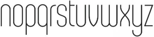 Sunblock Pro Thin otf (100) Font LOWERCASE