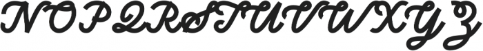 Sunborn Script otf (400) Font UPPERCASE