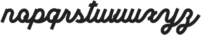 Sunborn Script otf (400) Font LOWERCASE