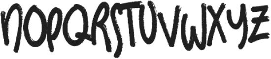 Sundaes on Mondays otf (400) Font LOWERCASE