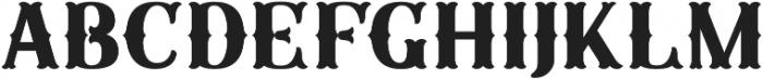Sunday Best Fancy Artisan otf (400) Font UPPERCASE