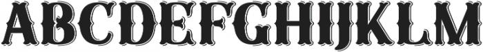 Sunday Best Fancy Embellished Inset ttf (400) Font LOWERCASE