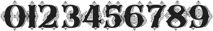 Sunday Best Fancy Illuminated ttf (400) Font OTHER CHARS